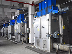 Lowest temperature sludge drying project in China